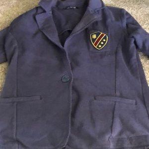 Tommy Hilfiger navy (prep school jacket)
